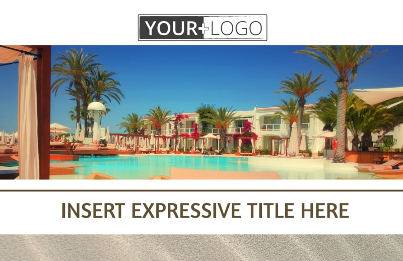 Luxury Hotels Postcard Template Preview 2