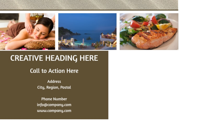 Luxury Hotels Postcard Template Preview 3