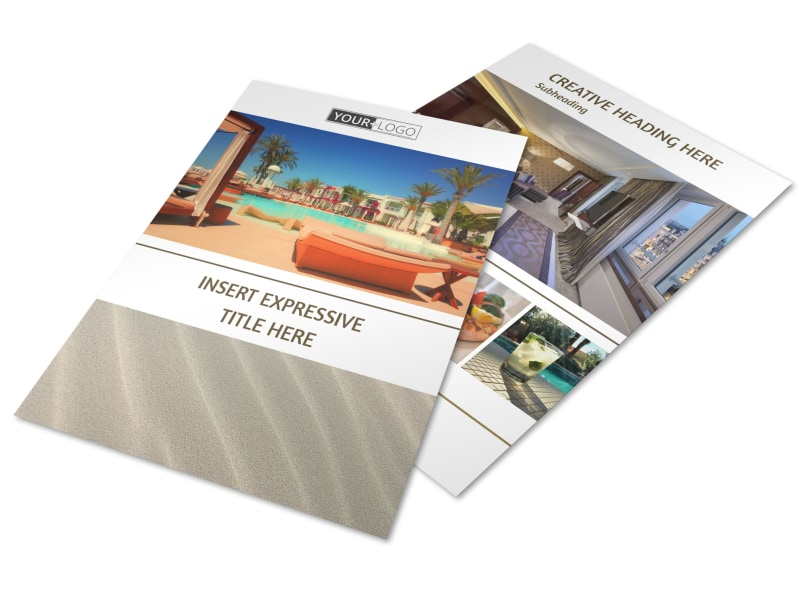 Luxury Hotels Flyer Template