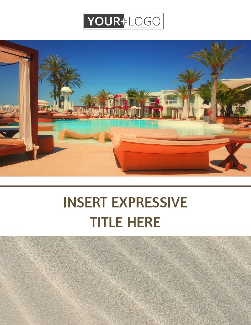 Luxury Hotels Flyer Template Preview 2