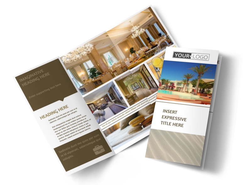 Luxury Hotels Brochure Template Preview 1