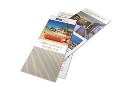 Luxury Hotels Flyer Template 2