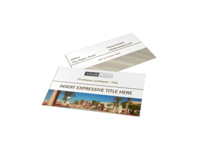 Luxury Hotels Business Card Template