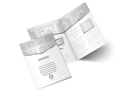 Generic Bi-Fold Brochure Template 2780