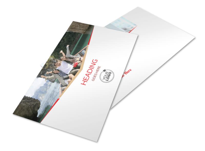 Travel Agency Postcard Template 2