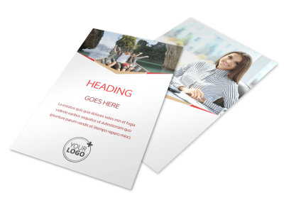 Travel Agency Flyer Template 3 preview