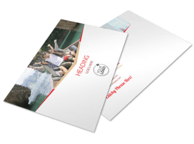 Travel Agency Postcard Template preview