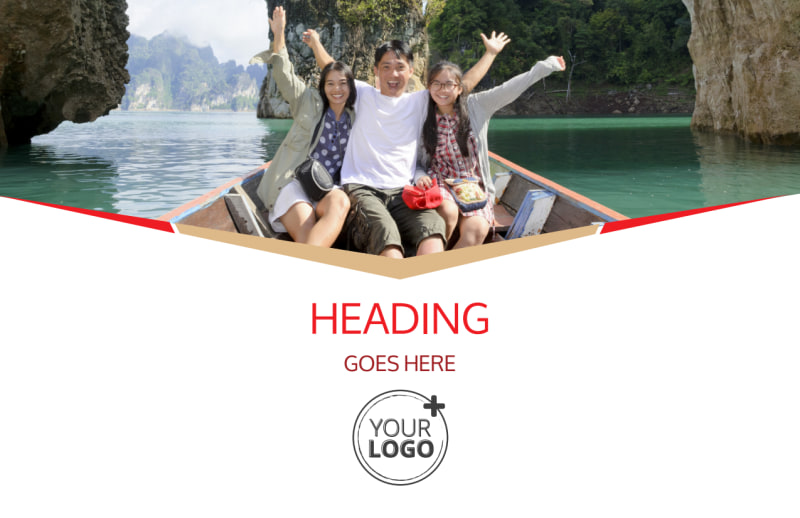 Leading Travel Agents Postcard Template Preview 2