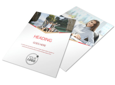Travel Agency Flyer Template preview