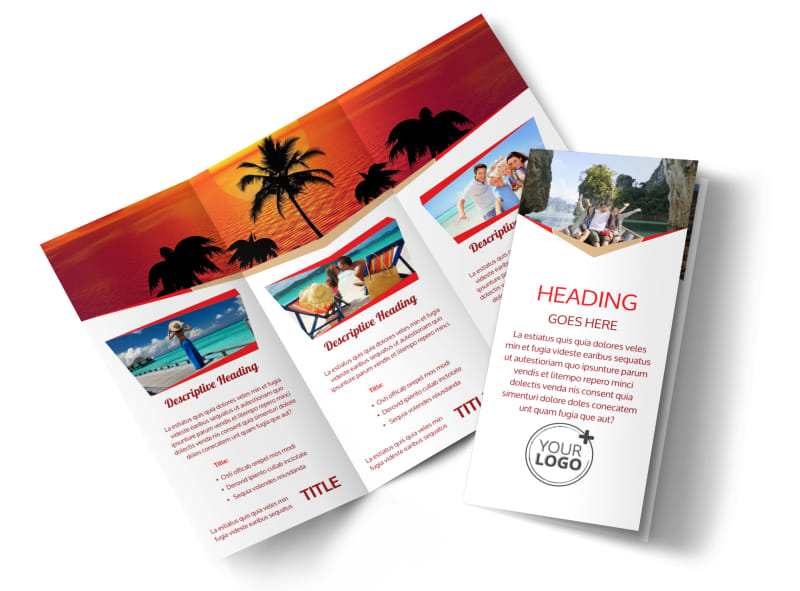Leading Travel Agents Brochure Template Preview 4