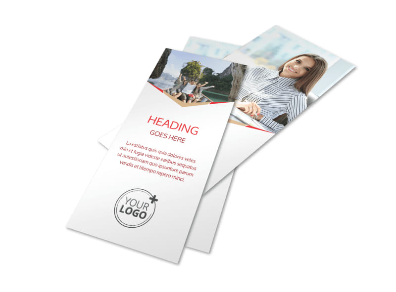Travel Agency Flyer Template 2