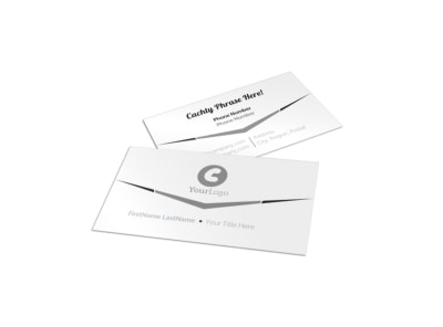 Generic Business Card Template 2788