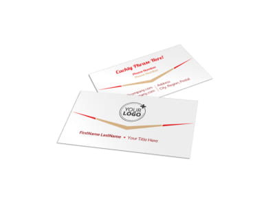 Travel Agency Business Card Template preview