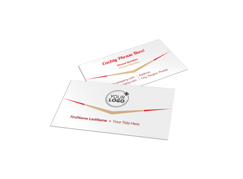 Leading Travel Agents Business Card Template Preview 1