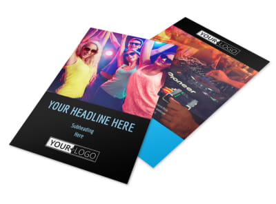VIP Night Club Party Flyer Template 3