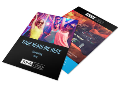 VIP Night Club Party Flyer Template