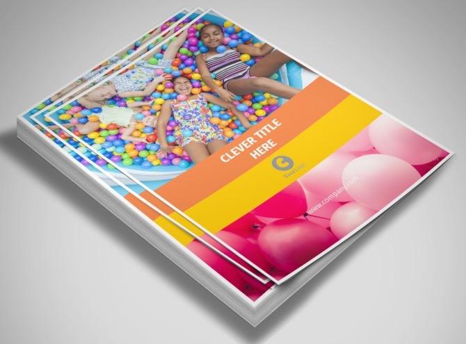 party rental supplies flyer template. Black Bedroom Furniture Sets. Home Design Ideas