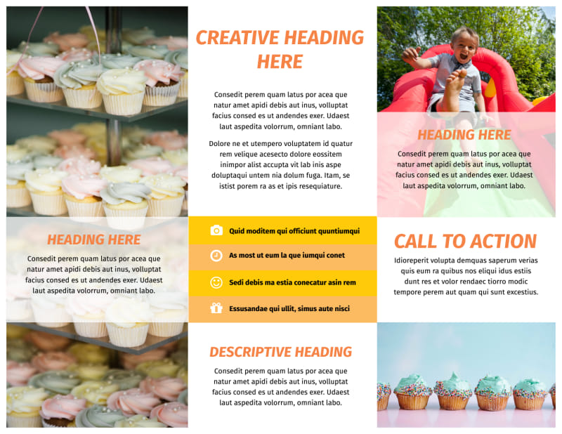 Party Rental Supplies Brochure Template Preview 3