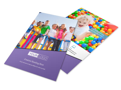 Fun School Party Flyer Template 3 preview