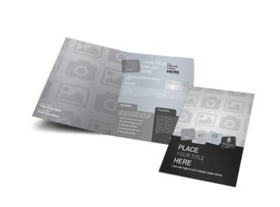 Generic Bi-Fold Brochure Template 2856 preview