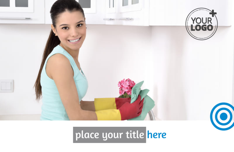 House Cleaning Service Postcard Template Preview 2