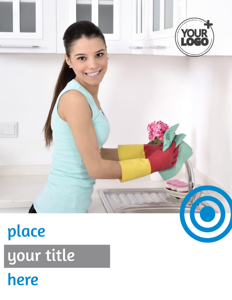 House Cleaning Service Flyer Template Preview 2