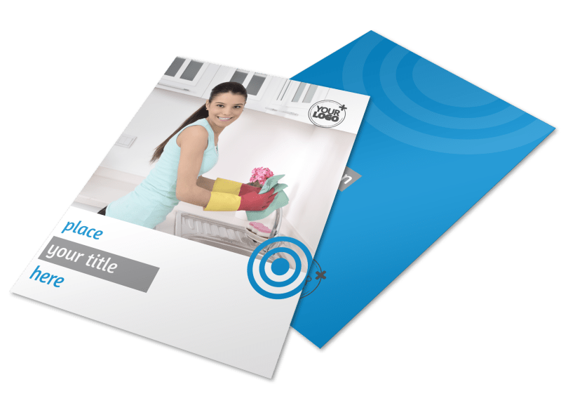 House Cleaning Service Flyer Template Preview 1