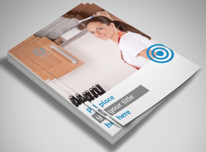 House Cleaning & Housekeeping Services Flyer Template