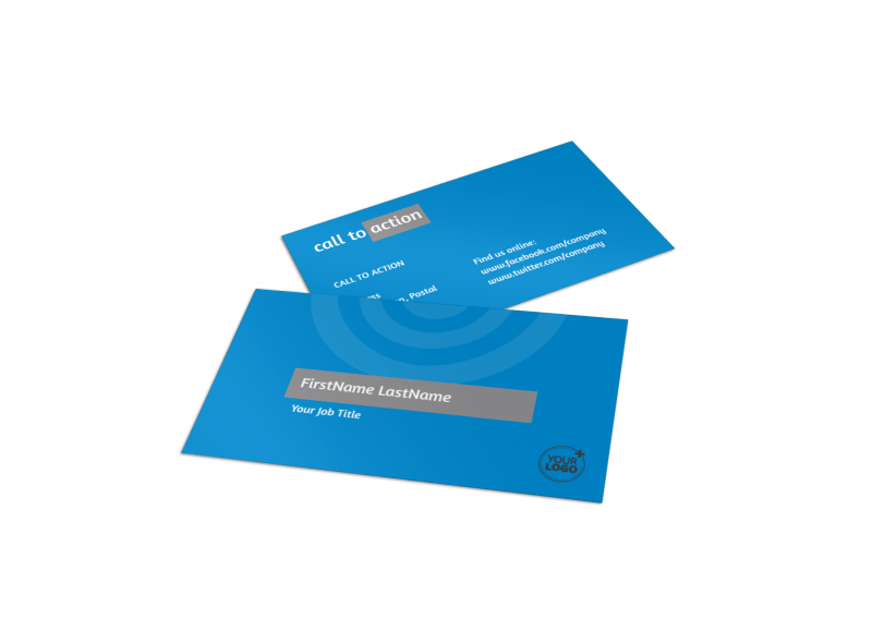 House Cleaning Service Business Card Template Preview 1