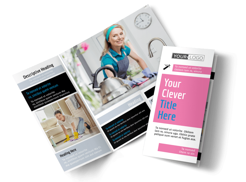 General Cleaning Brochure Template Preview 1