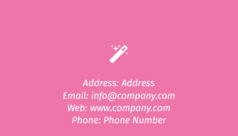 General Cleaning Business Card Template Preview 3