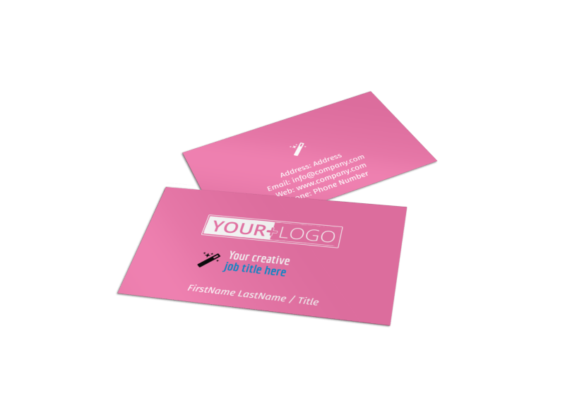 General Cleaning Business Card Template Preview 1