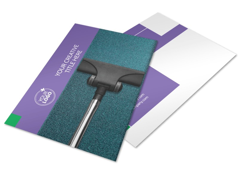 Carpet Cleaners Postcard Template 2