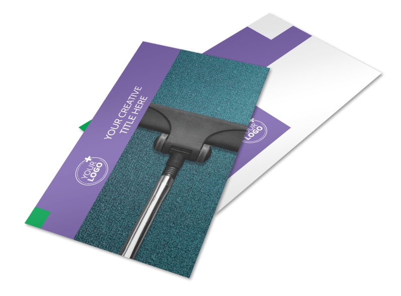 Carpet Cleaning Postcard Template Preview 1