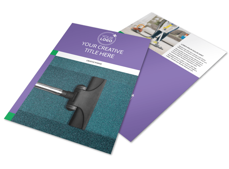 Carpet Cleaning Flyer Template Preview 1