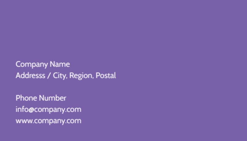 Carpet Cleaning Business Card Template Preview 3