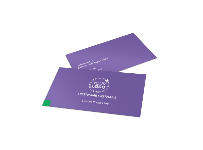 Carpet Cleaning Business Card Template Preview 1