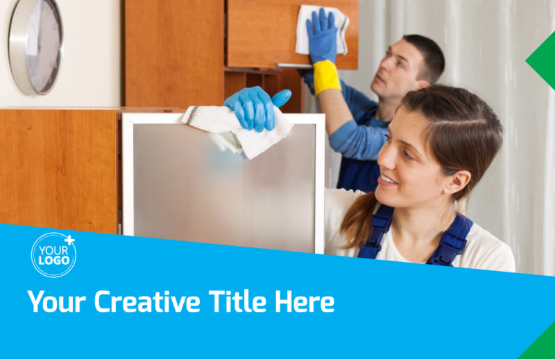 Commercial Cleaning Postcard Template Preview 2