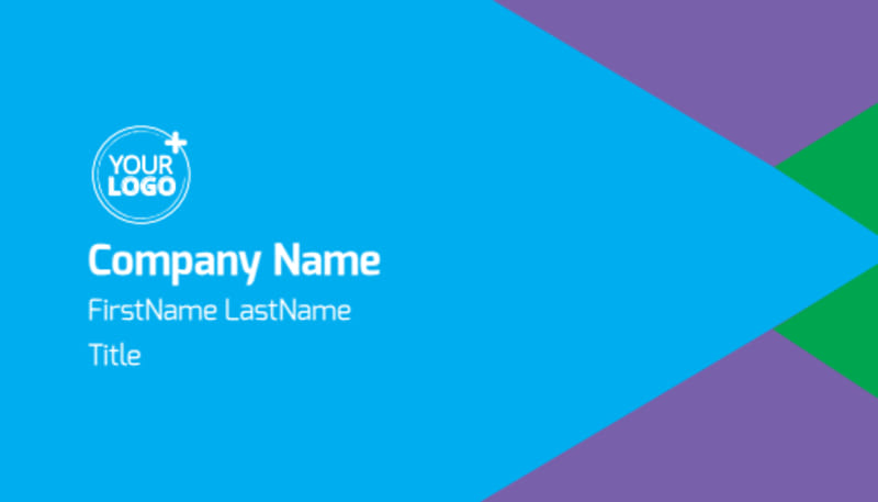 Commercial Cleaning Business Card Template Preview 2