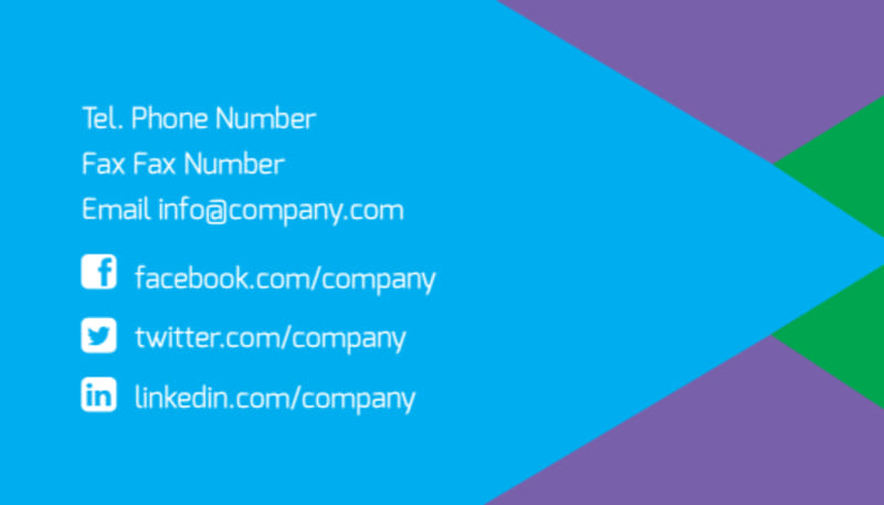 Commercial Cleaning Business Card Template Preview 3