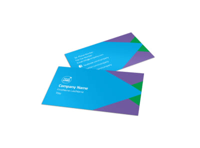 Commercial Cleaning Business Card Template