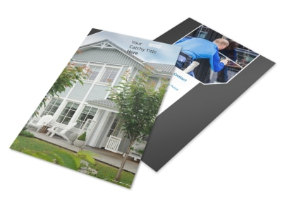 Window Cleaning & Pressure Washing Flyer Template 3 preview
