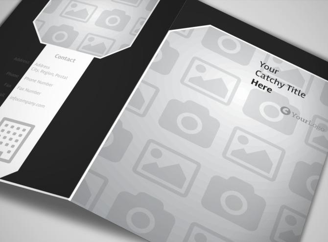 Window Cleaning & Pressure Washing Brochure Template