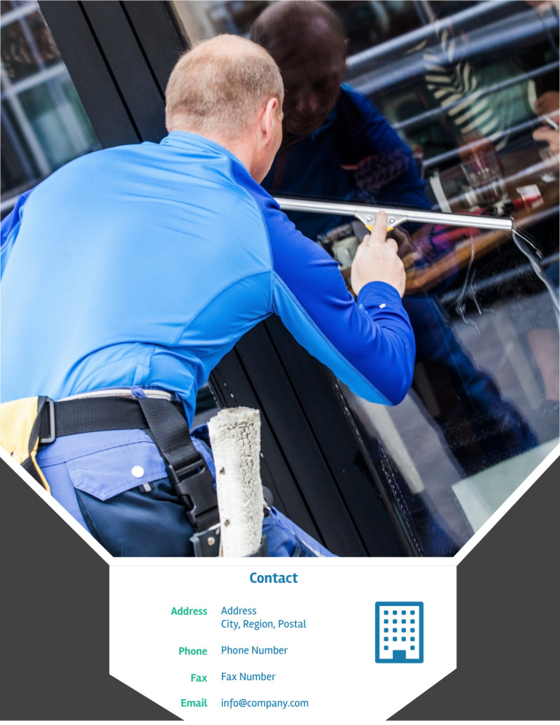Window Cleaning Flyer Template Preview 3