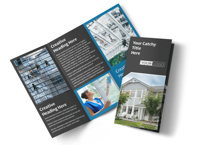 Window Cleaning Brochure Template Preview 1