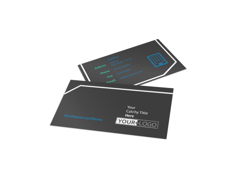 Window Cleaning Business Card Template Preview 1