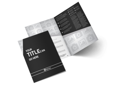 Generic Bi-Fold Brochure Template 2915