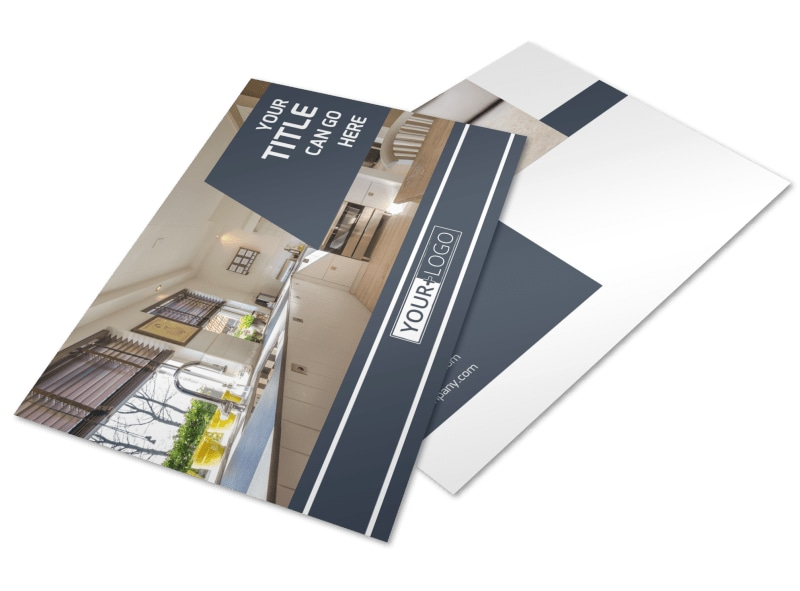 Apartment Cleaning Postcard Template 2