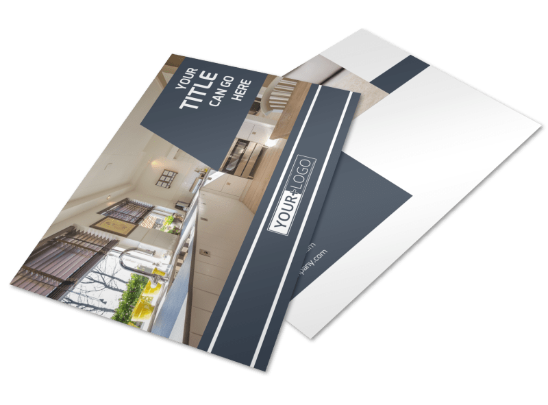 Apartment Cleaning Postcard Template Preview 1