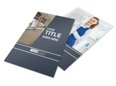 apartment brochure templates - apartment cleaning brochure template mycreativeshop